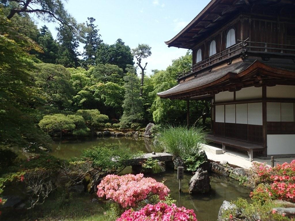 que ver en Kioto - Pabellón de la Plata