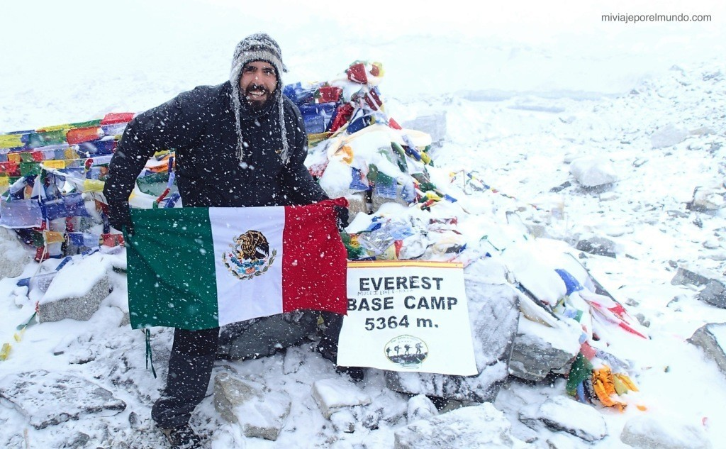 Mexicano en el Everest