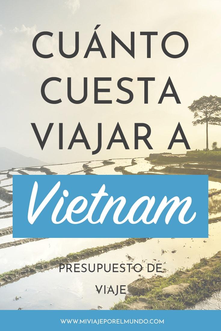 cuanto cuesta viajar a vietnam