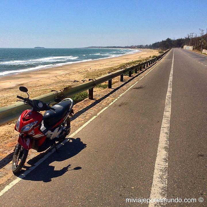 Viajar moto en Vietnam
