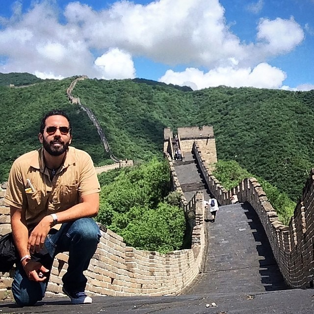 Selfie en la Muralla China