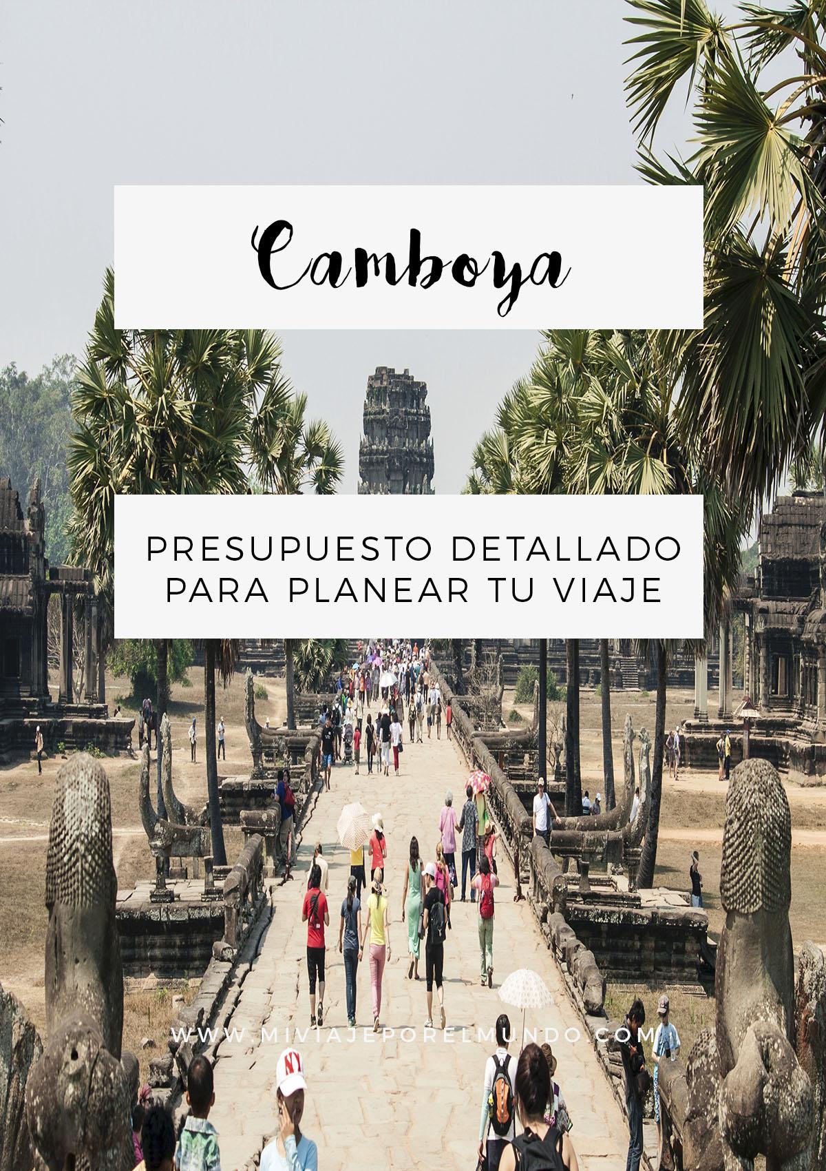 Cuánto cuesta viajar a Camboya