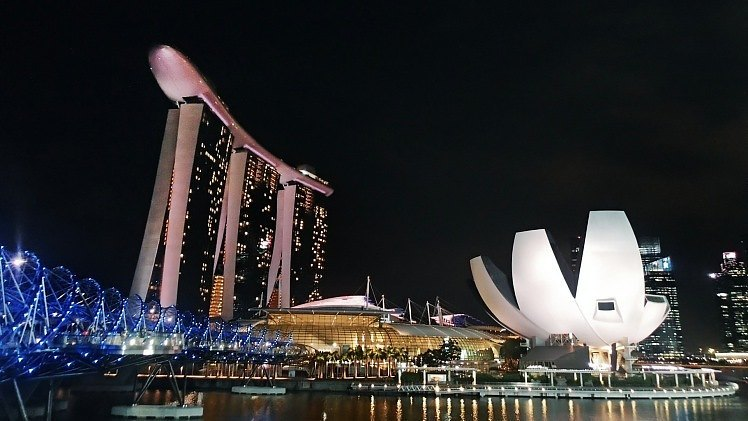 Hoteles baratos en Singapur
