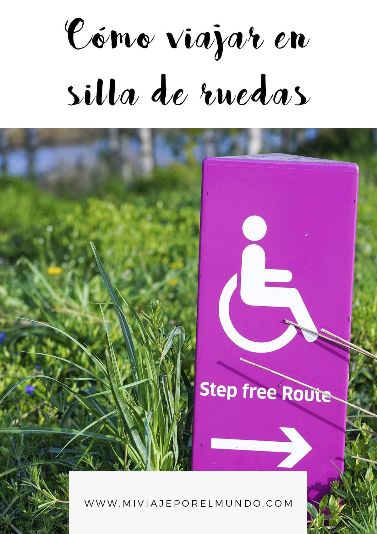 como viajar en silla de ruedas