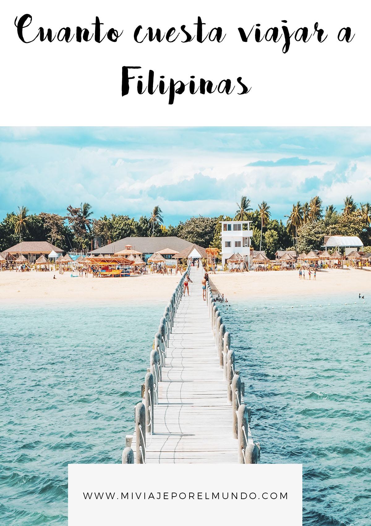 cuanto cuesta un viaje a filipinas