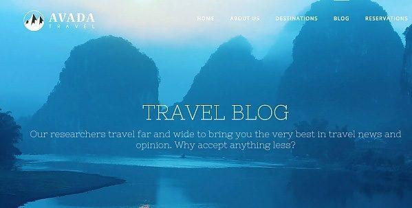 como creo un blog de viajes