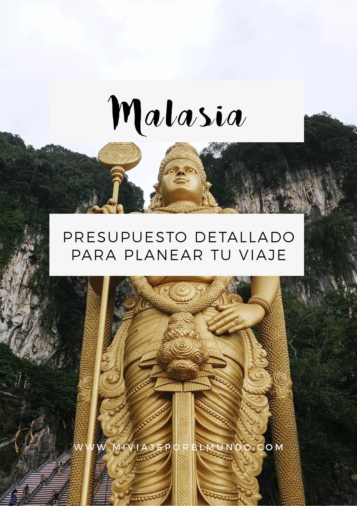 cuanto cuesta un viaje a malasia