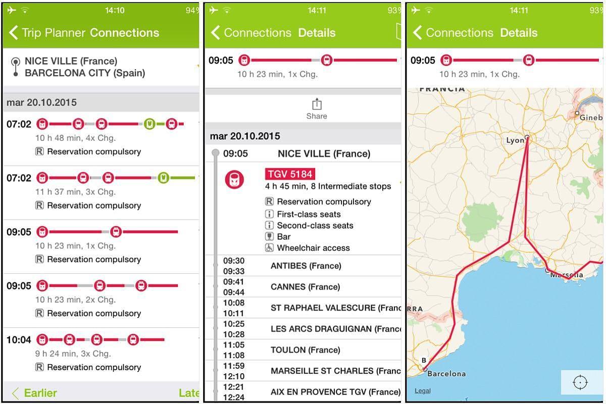 la mejor app de viajes para europa