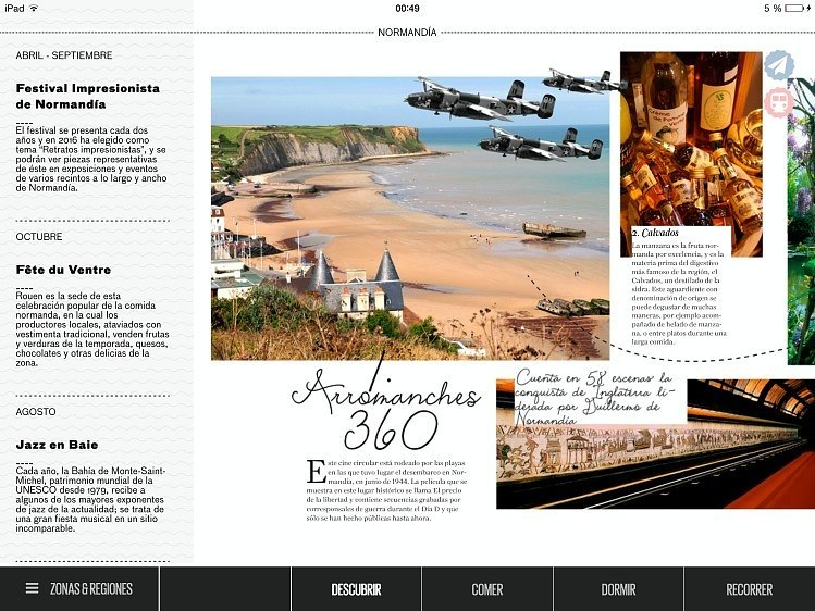 app de viaje de Francia