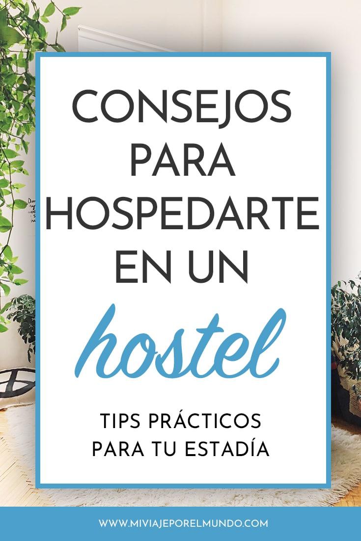 consejos para hospedarte en un hostel