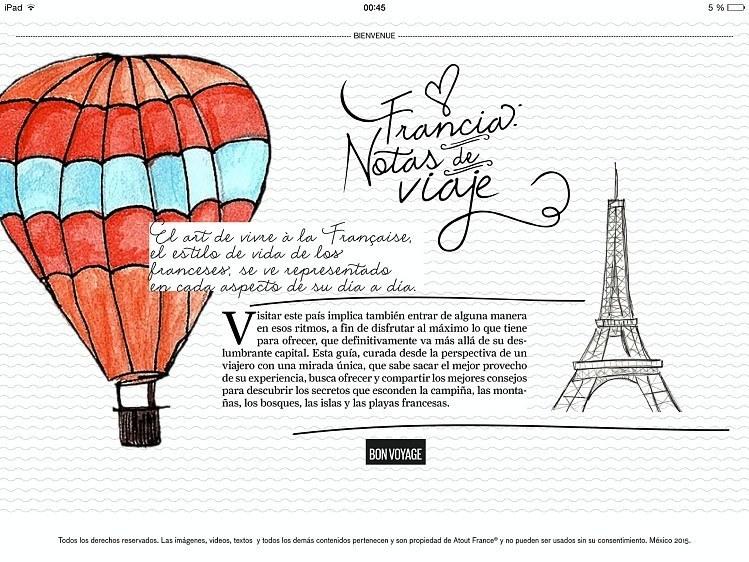 la mejor app de viaje Francia
