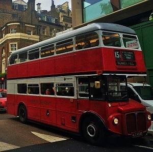 cuanto cuesta el autobus en Londres