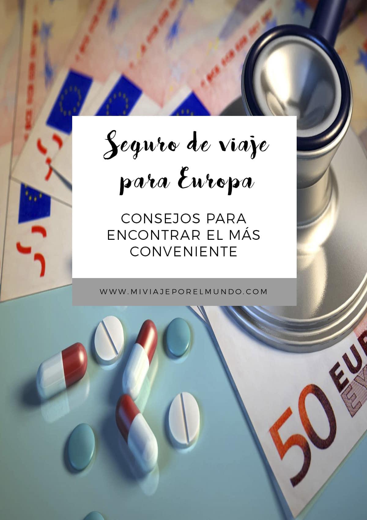 elegir seguro para viajar europa