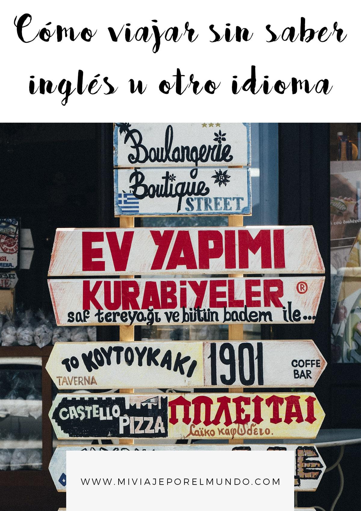 se puede viajar mundo sin hablar ingles u idioma