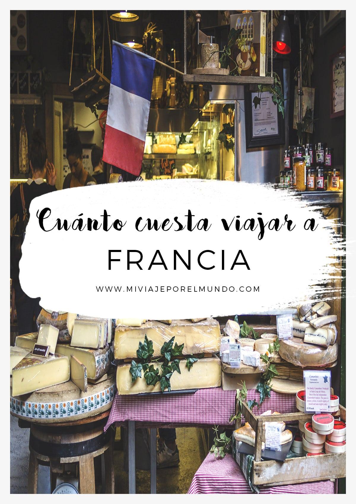 cuanto cuesta viajar a francia
