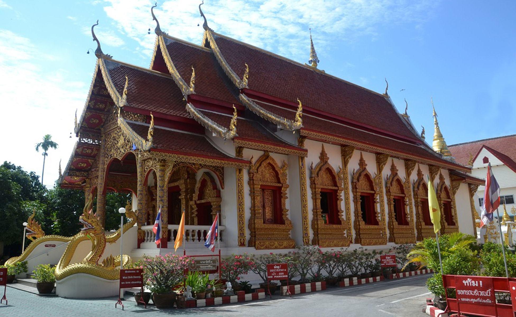 Dónde hospedarse en Chiang Mai-