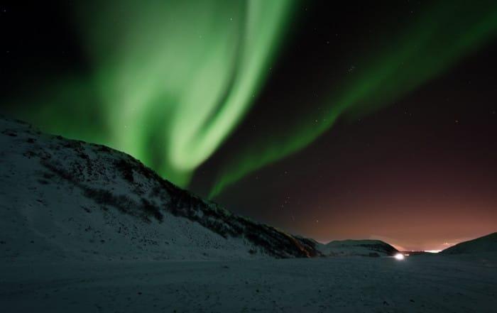Ver la aurora boreal en Noruega