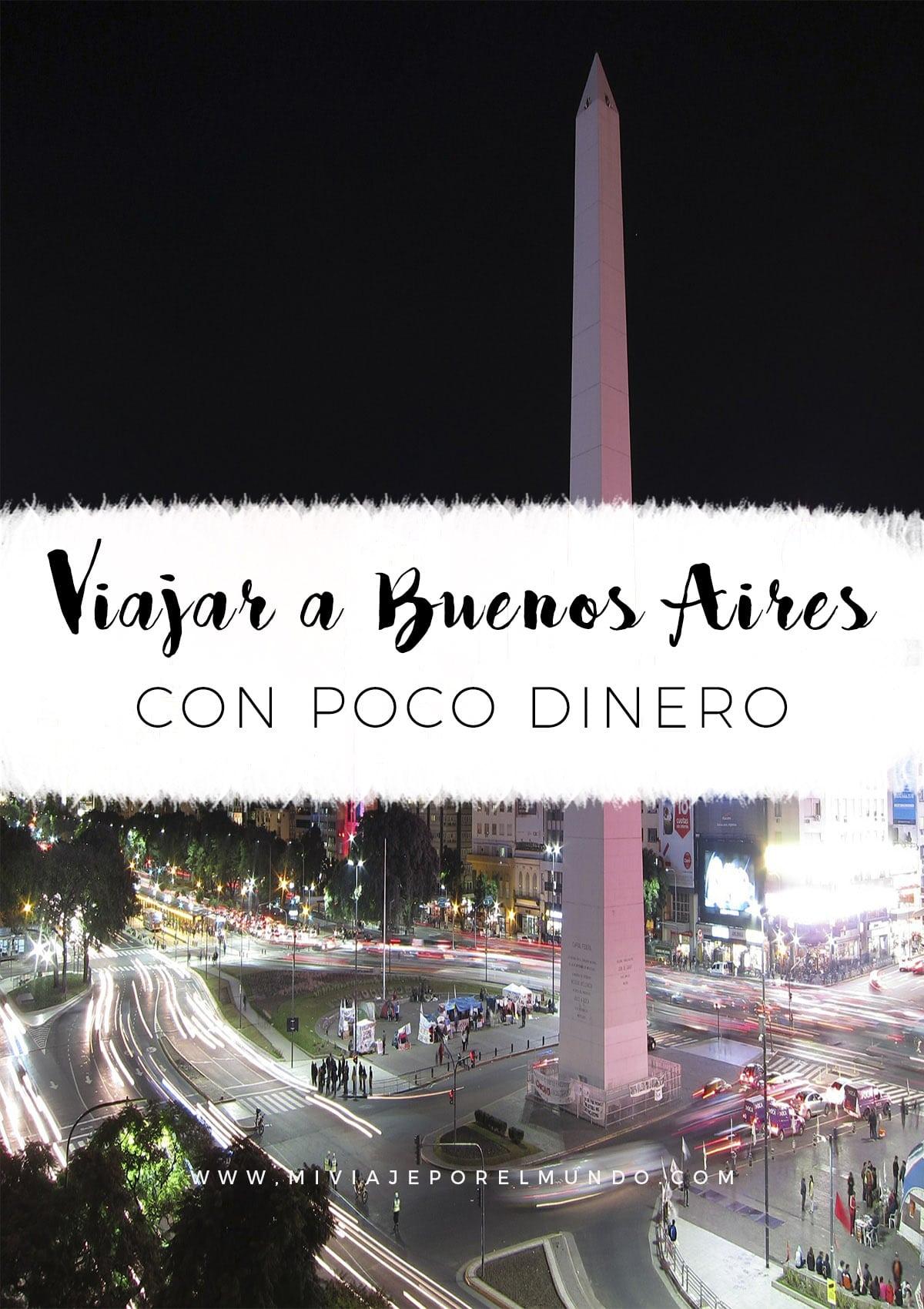 Viajar a Buenos Aires con poco dinero