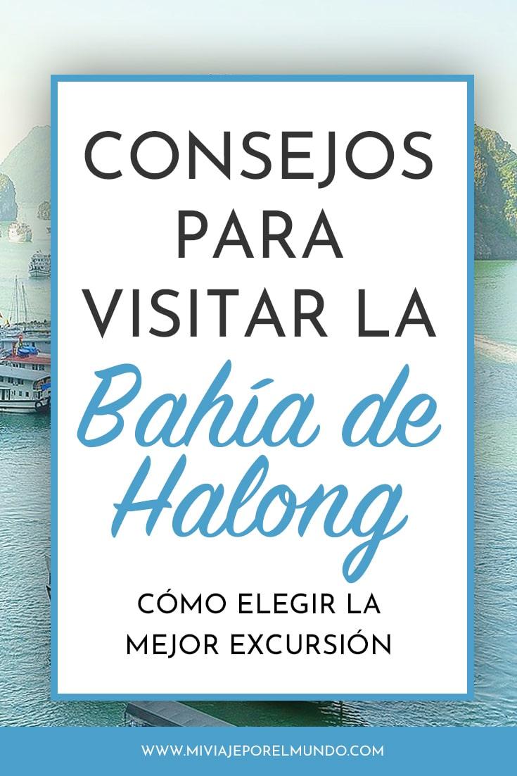 elegir una excursion a la bahia de halong