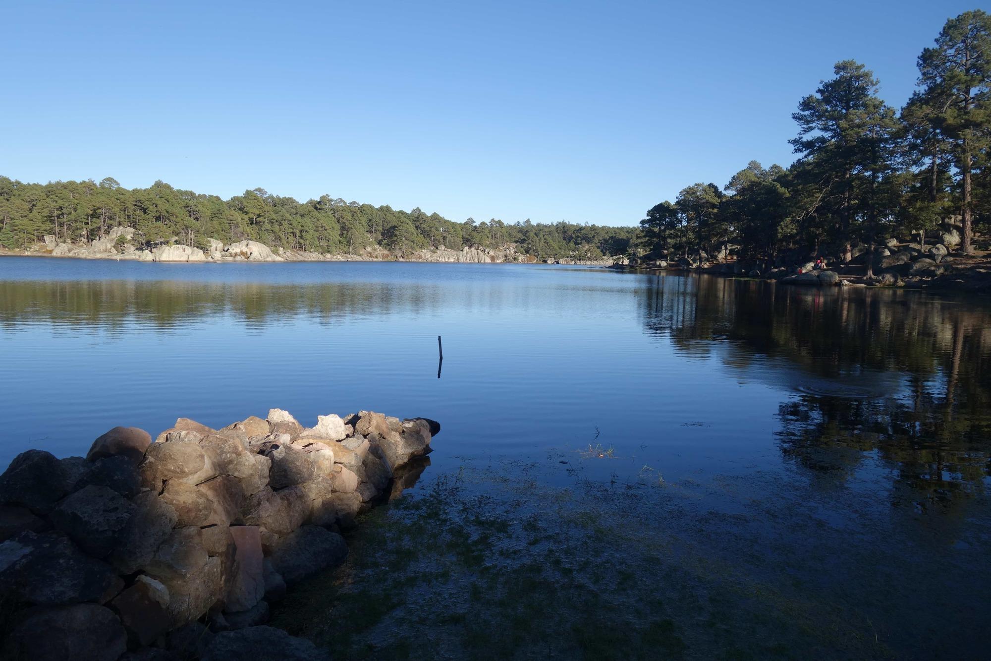 qué hacer en creel lago