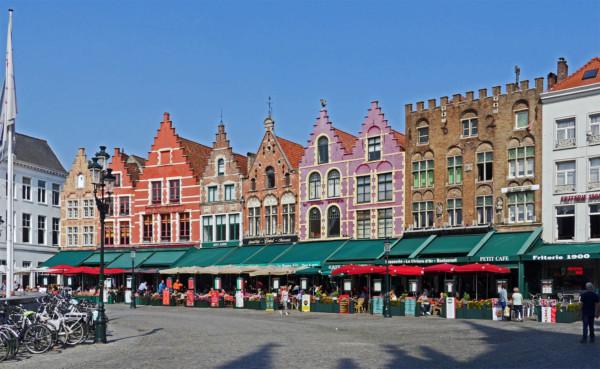 Viaje a Bruselas, Brujas y Gante