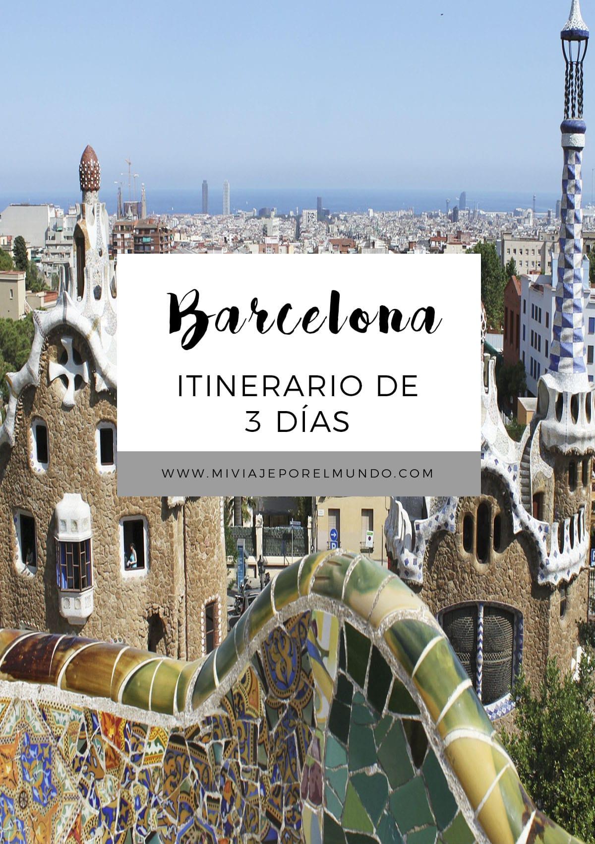que ver en barcelona en 3 dias