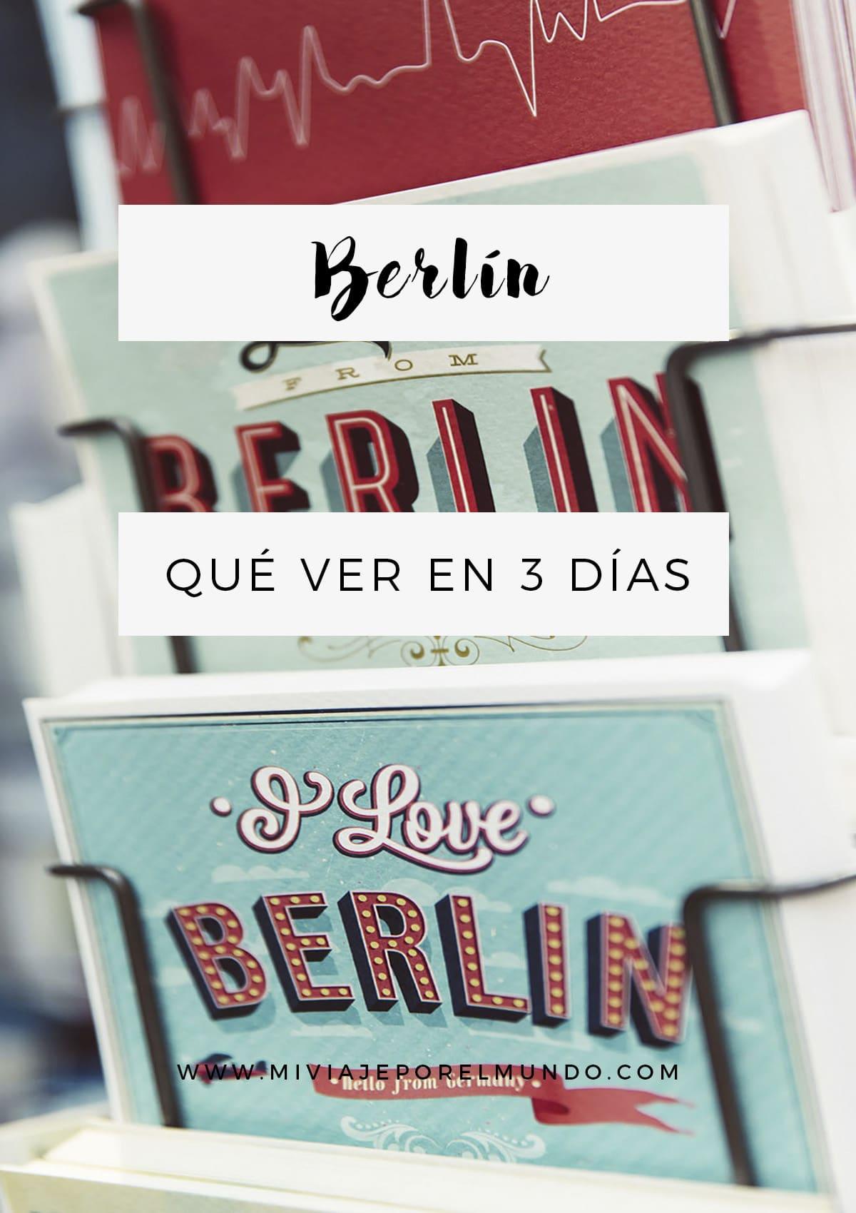 Qué haer en Berlín en 3 días