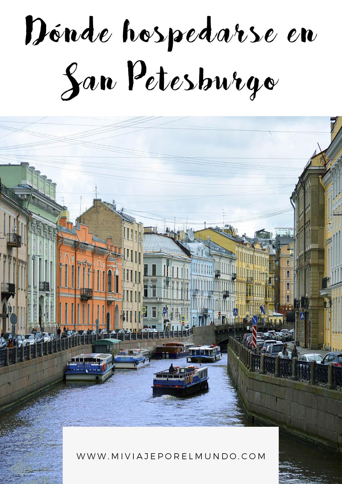 donde hospedarse en san petesburgo