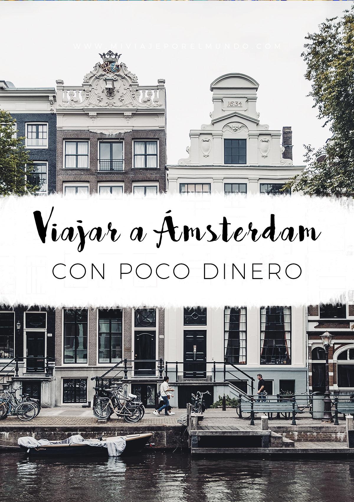 como viajar barato a amsterdam