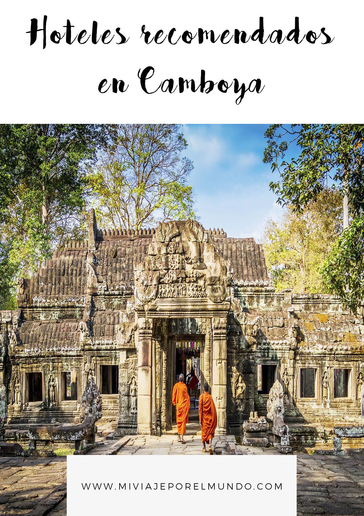 Dónde hospedarse en Camboya