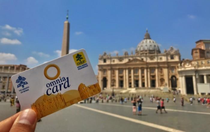 Tarjeta Omnia y Roma Pass