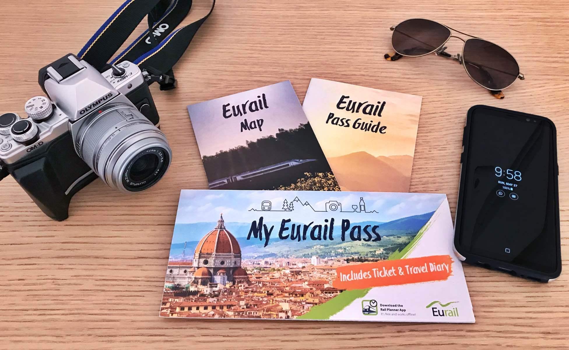 pases de Eurail