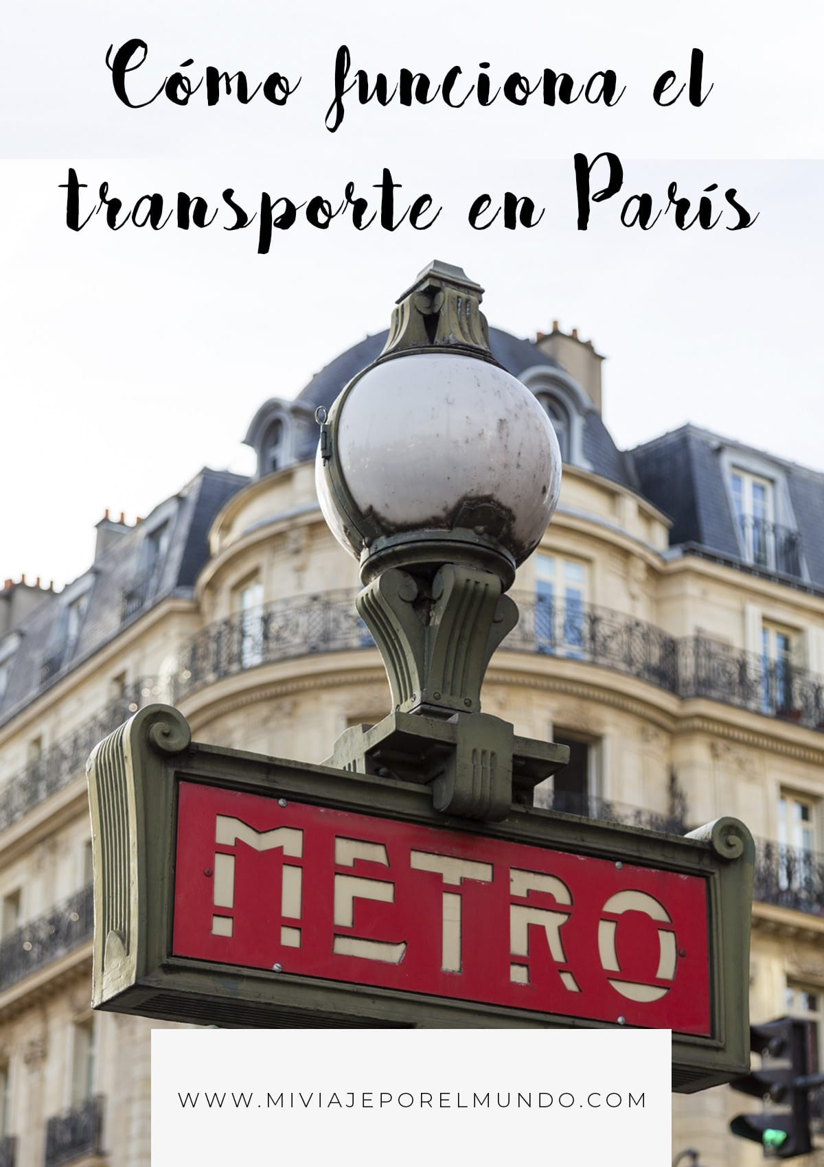 transporte publico en paris