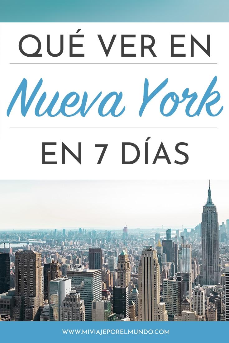 nueva york en 7 dias