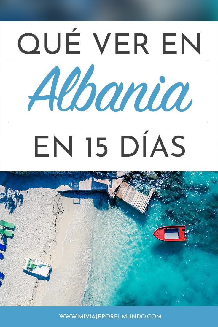 que ver en albania en 15 dias