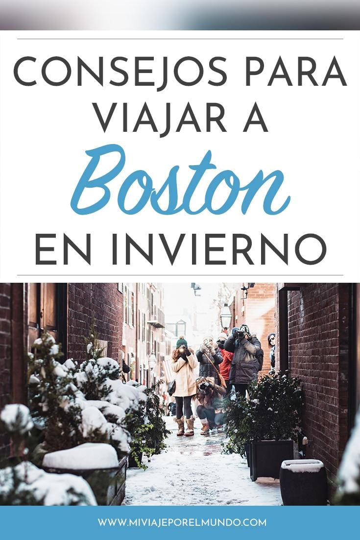 consejos para viajar a boston en invierno